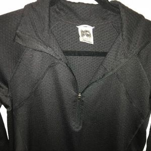 North Face Girl's 1/4Zip Pullover SzM